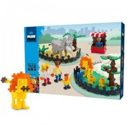 MINI BASIC 760 pezzi PLUSPLUS gioco modulare ZOO costruzioni PLUS PLUS età 5+