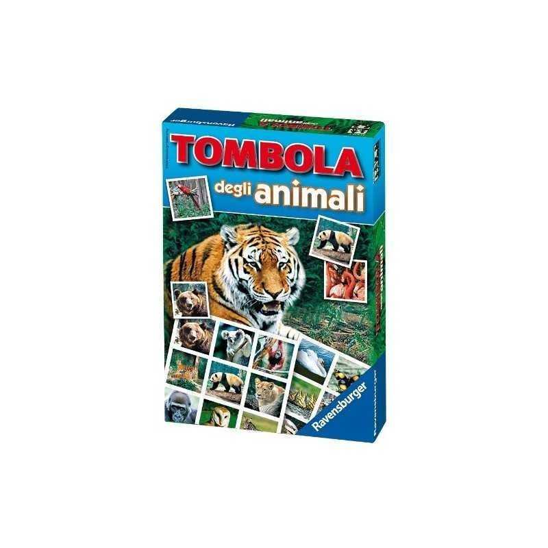 Tombola degli animali ravensburger loto gioco di societ carte et 4 8 - Tombola gioco da tavolo ...