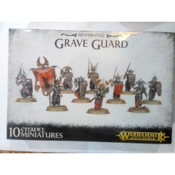 GAMES WORKSHOP Warhammer vampire counts TUMULUS CITADEL GUARD age 12 + SIGMAR