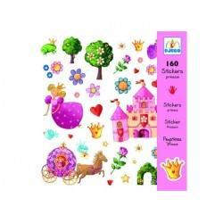 Adesivi Principessa 160 pz Djeco sticker