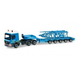 MERCEDES BENZ ACTROS L SEMITRAILER LIEBHERR LR 1600-2 FELBERMAYR Herpa 303989 Auto Trucks Camion scala 1:87 model
