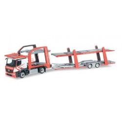 MERCEDES BENZ ACTROS EUROLOHR CAR TRANSPORTER TURINSKY Herpa 304412 Auto Trucks Camion scala 1:87 model