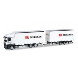 MERCEDES BENZ ACTROS BIGSPACE DB.SCHENKEL Herpa 304597 Auto Trucks Camion scala 1:87 model