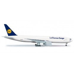 LUFTHANSA CARGO BOEING 777 FREIGHTER HERPA WINGS 524292 scala 1:500 model