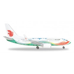 AIR CHINA BOEING 737-700 HERPA WINGS 528023 scala 1:500 model