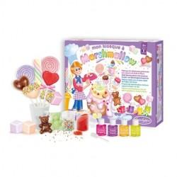 CHIOSCO DEI MARSHMALLOW kit culinario creativo con dolci edibili - da 8 anni