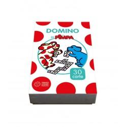 DOMINO DI PIMPA Franco Cosimo Panini Editore 30 CARTE gioco CLASSICO da 2 a 6 giocatori