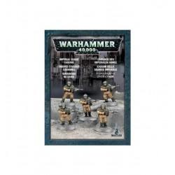 ASTRA MILITARUM CADIANS 5 modelli Warhammer 40k Guardia Imperiale Games Workshop