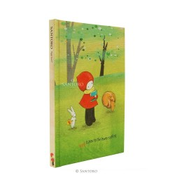 NOTEBOOK something POPPI LOVES copertina rigida 745PL04 taccuino SANTORO 76 pagine A RIGHE