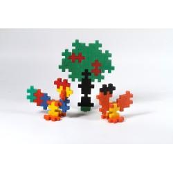 MIDI BASIC 200 pezzi PLUSPLUS gioco modulare costruzioni età 1-5 CUBO