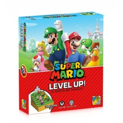 SUPER MARIO LEVEL UP gioco da tavolo DaVinci Games da 8 anni tabellone 3D