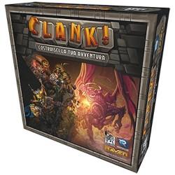 CLANK! gioco da tavolo DECK BUILDING costruisci la tua avventura RAVEN DISTRIBUTION in italiano 12+