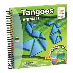 TANGOES ANIMALS tangram magnetico gioco da viaggio rompicapo Smart Games da 6 anni