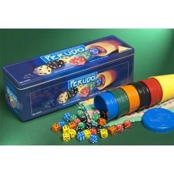 PERUDO il classico gioco di dadi e bluff GIOCHI UNITI scatola in metallo GIOCO PERUVIANO in italiano 8+