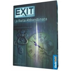 EXIT il gioco LA BAITA ABBANDONATA primo capitolo ESCAPE ROOM game IN ITALIANO età 12+