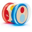 BABY DRUM tamburo HAPE gioco MUSICA bebè E0333 in legno PERCUSSIONI da 6 mesi +