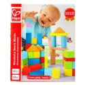 FUSTINO COSTRUZIONI wonderful beech blocks HAPE 101 pezzi IN LEGNO costruzioni E8247 da 12 mesi +