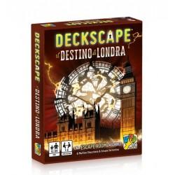 DECKSCAPE il destino di Londra ESCAPE ROOM gioco di carte ROMPICAPO in italiano DVGiochi ANCHE SOLITARIO
