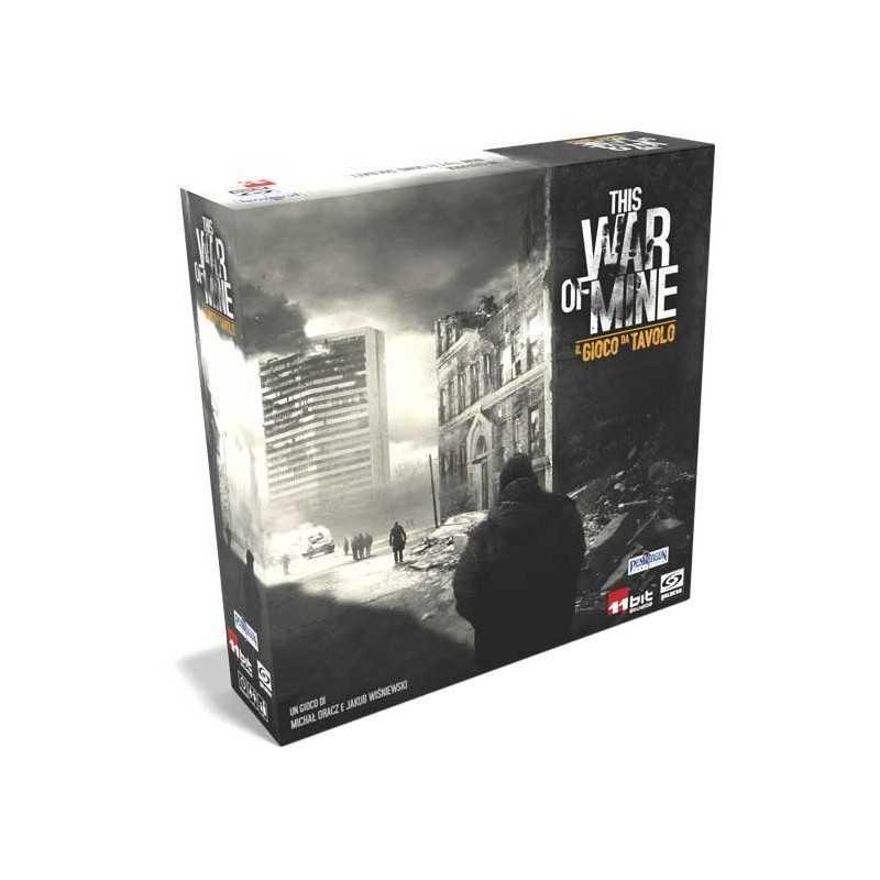 THIS WAR OF MINE il gioco da tavolo PENDRAGON gioco di sopravvivenza COOPERATIVO guerra ITALIANO età 18+