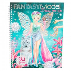 ALBUM vesti la tua TOP MODEL studio FANTASY dress me up 360 STICKERS topmodel DEPESCHE 8755_A