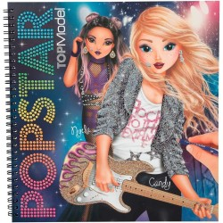 CREA LA TUA POPSTAR create your ALBUM studio TOP MODEL con esempi DEPESCHE topmodel 4324_A