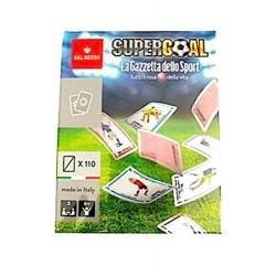 SUPERGOAL la gazzetta dello sport SUPER GOAL gioco di carte CALCIO Dal Negro MADE IN ITALY età 8+