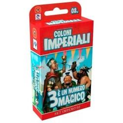 3 E' UN MAGICO NUMERO espansione COLONI IMPERIALI set impero 02 PENDRAGON italiano TRE età 10+