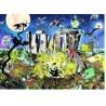 MYSTIC CIRCLE puzzle HEYE cerchio mistico 1000 PEZZI confezione triangolare CALLIS + poster