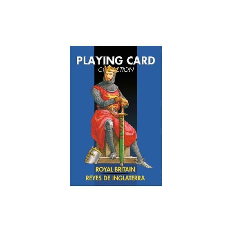 ROYAL BRITAIN mazzo di 54 CARTE playing card collection LO SCARABEO EDITORE da gioco CLASSICO reali inglesi