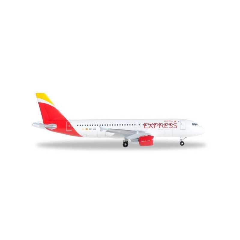 IBERIA EXPRESS AIRBUS A320 aereo in metallo 526630 modellino HERPA WINGS scala 1:500