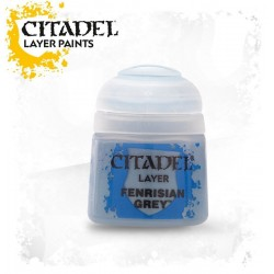 FENRISIAN GREY colore LAYER Citadel WARHAMMER Games Workshop GRIGIO pittura BOCCETTO 12 ml