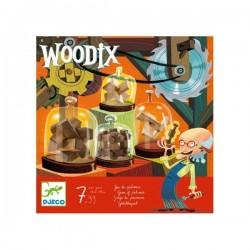 WOODIX gioco di pazienza ROMPICAPO in legno DJECO con soluzioni DJ08464 età 7+