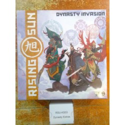 RISING SUN Dynasty Invasion expansion including Kickstarter exclusives miniature game Coolminiornot