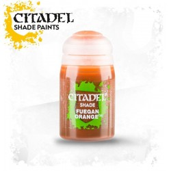 FUEGAN ORANGE colore SHADE Citadel WARHAMMER Games Workshop ARANCIONE boccetta 24 ML lavatura