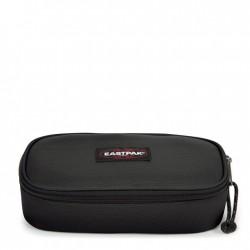 ASTUCCIO Eastpak OVAL XL tasca interna con zip EK34A008 divisoria porta penne NERO single BLACK