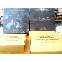 VAMPIRE HUNTERS Kickstarter Edition Slayer Pledge miniature boardgame including exclusive Stretch Goals