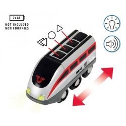 FERROVIA SMART TECH locomotiva e tunnel azione Brio 33873 treno intelligente