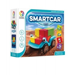 SMARTCAR 5X5 gioco solitario 2018 logica SMART GAMES puzzle EDUCATIVO età 4+