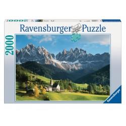 PUZZLE ravensburger DOLOMITI 2000 pezzi ORIGINALE 98x75cm PAESAGGI