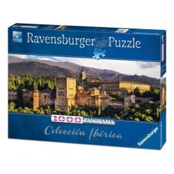 PUZZLE Ravensburger GRANADA panorama 1000 PEZZI 98 x 38 cm COLECCION IBERICA