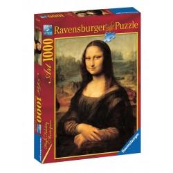 PUZZLE Ravensburger LA GIOCONDA leonardo da vinci 1000 PEZZI 50 x 70 cm ART high fidelity masterpiece