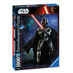 PUZZLE Ravensburger DARTH VADER Star Wars 1000 PEZZI 50 x 70 cm DISNEY ultimate collection