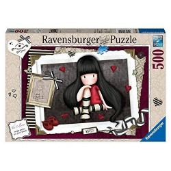 PUZZLE Ravensburger GORJUSS Santoro THE COLLECTOR soft click 500 PEZZI 36 x 49 cm