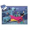 PUZZLE gioco SUPER STAR 36 pezzi giganti DJECO scatola sagomata DJ07226 età 4+