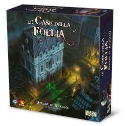 STRADE DI ARKHAM espansione per LE CASE DELLA FOLLIA seconda edizione GIOCO COOPERATIVO età 14+