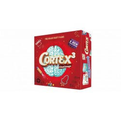 CORTEX 3 Challenge ROSSO Asmodee 8 NUOVE SFIDE il gioco del cervello ODORI età 8+