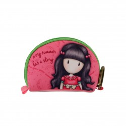 MINI BORSELLINO Santoro EVERY SUMMER HAS A STORY Gorjuss MINI POUCH rosa 369GJ22 neoprene