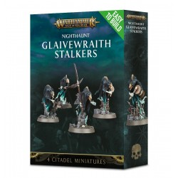 GLAIVEWRAITH STALKERS nighthaunt CITADEL 4 miniature AGE OF SIGMAR Warhammer GAMES WORKSHOP Easy to Build 12+