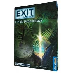 L'ISOLA DIMENTICATA escape room EXIT il gioco ITALIANO kosmos AVANZATO età 12+
