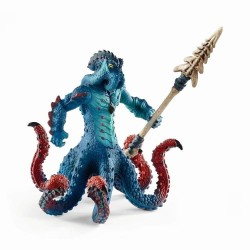 KRAKEN MOSTRO MARINO snodabile con arma Schleich 42449 Eldrador Creatures Kraken Monster